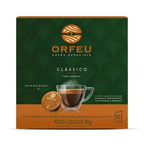 Café Orfeu Cápsula 10 Clássico Compatível Dolce Gusto®