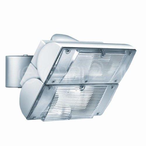 ESYLUX 1655074 Strahler 2 x 18 W TC-D, IP54, EST 18/2, weiß