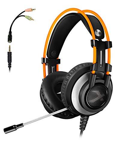 ARKARTECH K9 ゲーミング ヘッドセット ヘッドホン ヘッドフォン pc ps4対応 マイク付き 高音質 遮音 有線 ...