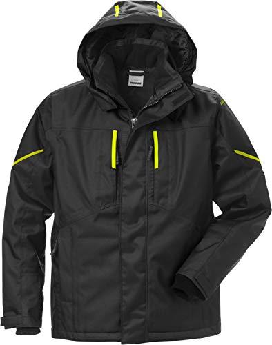 Fristads Workwear 127559 Herren Airtech Winterjacke Gr. L, Schwarz/Gelb