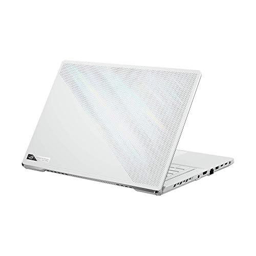 ASUS ROG Zephyrus G15 39,6 cm (15,6 Zoll, QHD, IPS-Level, 165 Hz, matt) Gaming-Notebook (AMD R9-5900HS, 16GB RAM, 1TB SSD, NVIDIA GeForce RTX3060 (6GB), Windows 10 Pro) Moonlight White