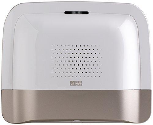 Delta Dore 6414117 TTGSM TYXAL+ Transmetteur téléphonique GSM radio blanc