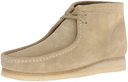 Clarks Men's Wallabee Boot Fashion, maple suede, 11