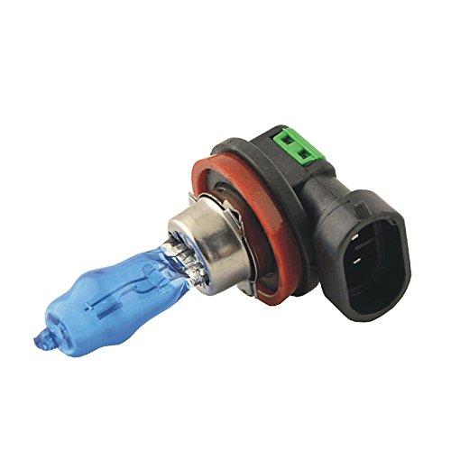 ZGMA 2pcs H11 Automatique Ampoules électriques 100W Lampe Frontale/Feu Antibrouillard Warm White