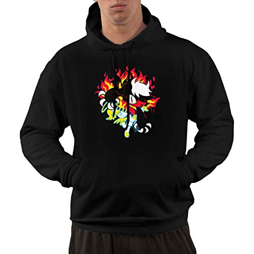 Lsjuee Devil in Disguise Casual Fashion Men 's Pocket Hoodie 1