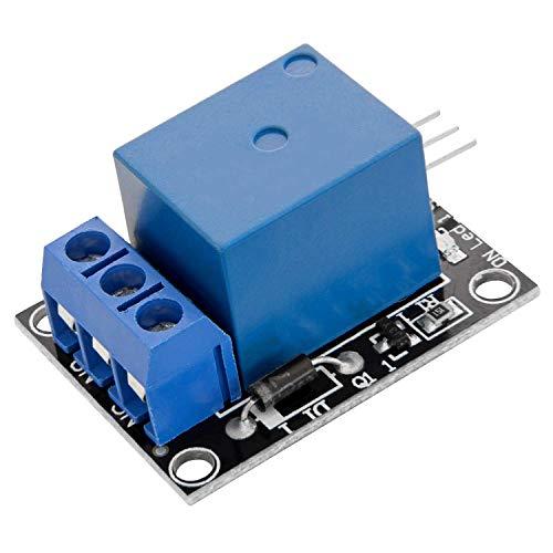AZDelivery 1 Canal KY-019 Modulo Rele 5V High-Level-Trigger compatible con Arduino con E-Book incluido!