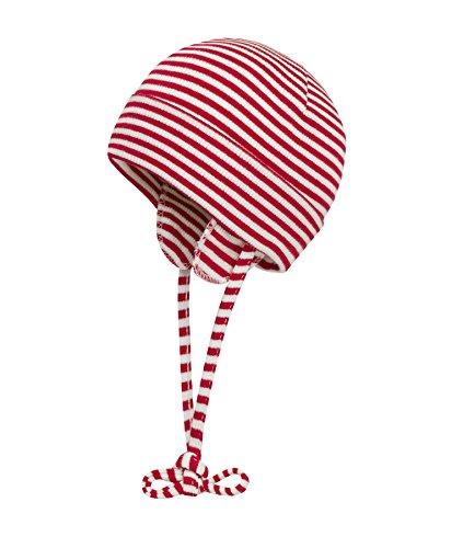 Döll Unisex Baby Bindemütze Jersey 9981176995 Mütze, Rot (Chinese Red 2000), 37