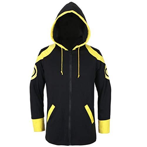 Lilongjiao Mystic Mensajero 707 de la chaqueta con capucha Camisa extrema Saeyoung Choi cosplay for los hombres, (S-L)
