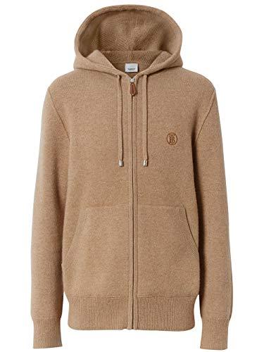 BURBERRY Luxury Fashion Herren 8023332 Braun Kaschmir Sweatshirt | Frühling Sommer 20