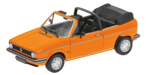 MINICHAMPS 400055131 VW Golf I Cabrio 1980 orange