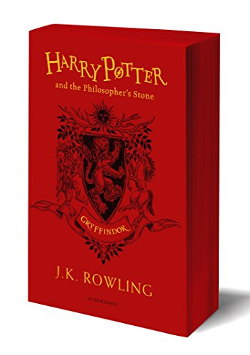 Harry Potter And The Philosopher s Stone. Gryffin: J.K. Rowling (Gryffindor Edition - Red)