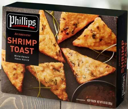 Phillips Shrimp Toast 9.25 Ounce 12 Superior case. per -- cheap