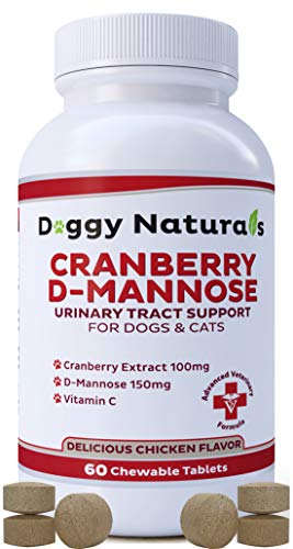 Pet Health Pharma Cranberry D-Mannose for Dogs and Cats Urinary Tract...