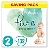 PAMPERS Protection Pure Taille 2 4-8 kg 132 Unité