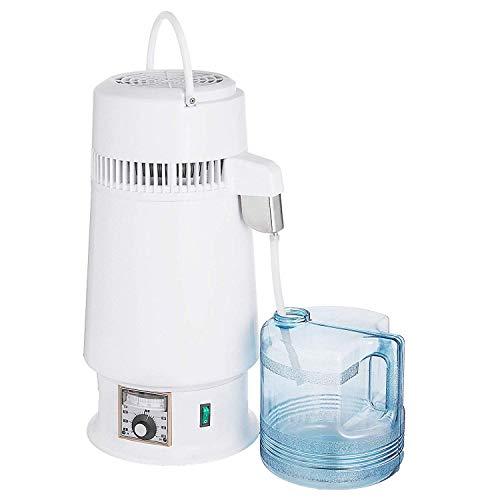 Moracle Destilador de Agua 4L Purificador de Agua 750 W