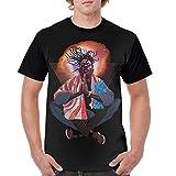 Joey Badass Shirt Custom Men Short Sleeve Round Neck Crewneck T-Shirt L Black
