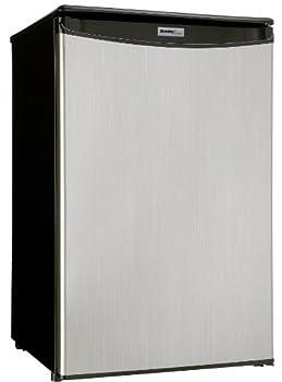 Danby DAR044A4BSLDD-6 4.4 Cu.Ft Mini Fridge Compact All Refrigerator for Bedroom Living Room Bar Dorm Kitchen-in Stainless Steel Look