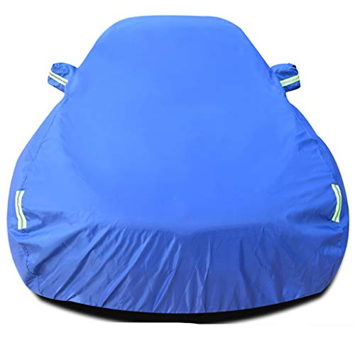 LIFEIYAN Outdoor Car Cover,Compatible with Peugeot Traveller Car Cover Sun Protection Rain Dust Antifreeze Thickening Insulation Oxford Cloth Car Cover A Tarpaulin