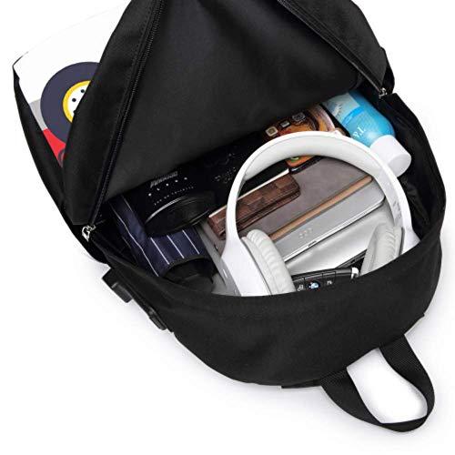 Camping Rucksack Gruselige Katze Autofahren Schnelle Damen Bookbags Mit USB Ladeport Und Kopfhörer Port Für College Work Travel