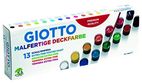Giotto, Temperafarbe, 13 / Mehrfarbig, 29.5 x 3.7 x 10.5 cm, Einheiten