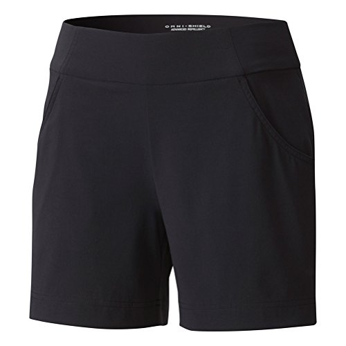 Columbia Women's Anytime Casual Shorts, Stain Resistant, Sun Protection, Black, X-Large x 5