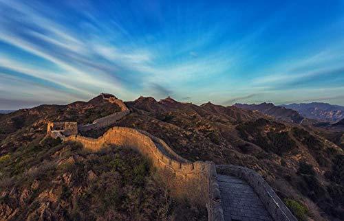 Fotomurales3DPapelPintado Pico Del Cielo De La Gran Muralla Murales3DPapelTapizDecorativosModernoWallpaper