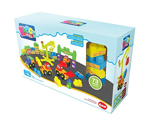 Brinquedo para Montar Mega Construção, Dismat, Multicor