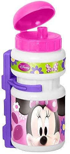 Kinder Fahrrad Trinkflasche Fahrradflasche Sport Flasche Disney MINNIE MOUSE