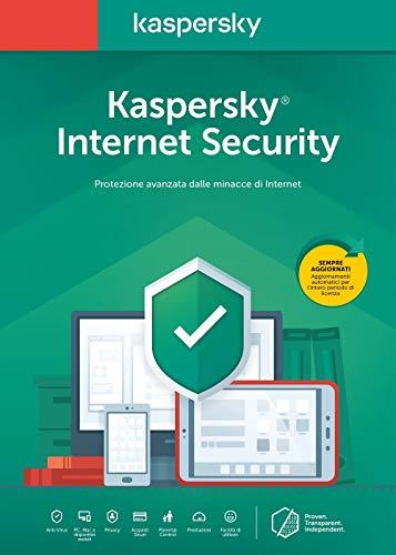 Kaspersky Internet Security 2020 1 User Renewal