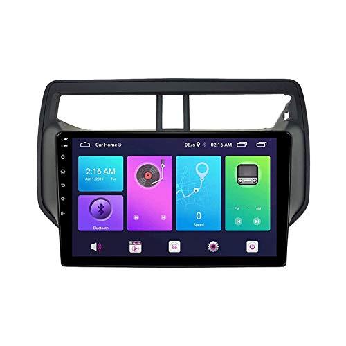 Para TOYOTA Rush 2018 coche estéreo Radios receptor unidad principal Android Auto Sat Nav Multimedia GPS Navegación HD pantalla táctil con 4G DSP Carplay Mirror Link, 8 Core 4G+WiFi: 4+64GB