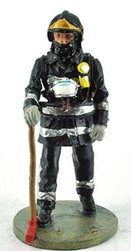 Del Prado Sammelfigur Feuerwehrmann Firefighter Figur Paris Frankreich 1978 1:32 ca. 7 cm Metall