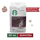 Starbucks Sumatra Dark Roast Ground Coffee, 20 Oz. Bag | Great Holiday Gift for Coffee Lovers