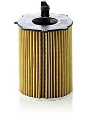 Original MANN-FILTER Filtro de aceite HU 716/2 X – Set de filtro de aceite juego de juntas – Para automóviles