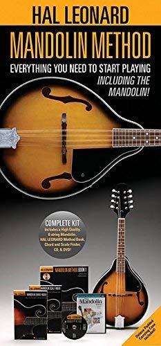 Hal Leonard - Juego completo de métodos de mandolina
