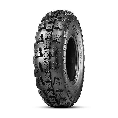 OBOR Advent ATV Tires 22x7-10, 6 Ply GNCC Champion Tires, 22x7x10 ATV Race Front Tires(1 Pack)