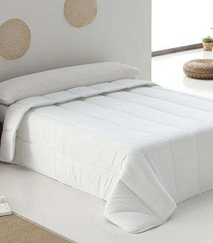 Belnou Edredón Relleno Nórdico 400 g, Tacto Seda, Confort Invernal, Blanco, Cama 135, 220 x 220 cm