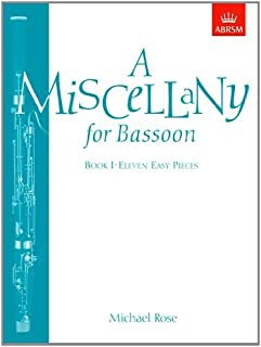 A Miscellany for Bassoon, Book I: (Eleven easy pieces)