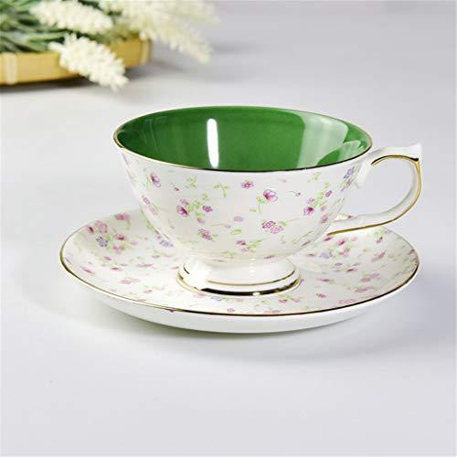 La Couleur exquise Bone China à la Main Tasse de café définit la Plante EnamelFlower est pour Les Amoureux
