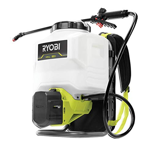Ryobi RY18BPSA-0 18V ONE+ Cordless Backpack Sprayer (Bare Tool), 18 V