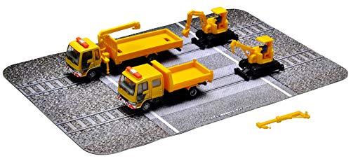 ザ・トラックコレクション トラコレ 軌陸保線車両セットB ジオラマ用品 (メーカー初回受注限定生産) 314899