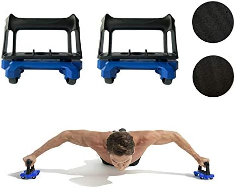 Oak-Sports Ab Roller for Abs Workout (Set of 2), Ab Roller Wheel Fitness Equipment for Core Workout, Exercise Roller Kit and Ab Wheel Roller kit Home Gym, Ab Workout Equipment for Abdominal Exercise