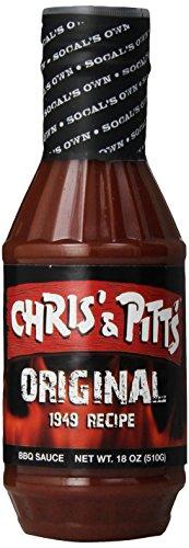 Chris' & Pitt'S Original BBQ Sauce, 18 oz