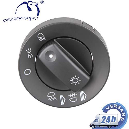 Dromedary 8e0941531Luz Interruptor principal protectora para faros delanteros Interruptor de luz antiniebla