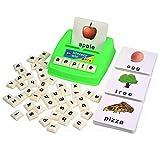 識字能力ウィズ楽しいゲーム-小文字のサイトの言葉-60フラッシュカード-就学前言語学習教育玩具…