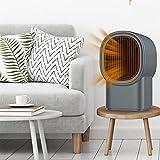 QIULAO Calefactor De Aire Caliente, Ventilador Eléctrico, Diseño De Reducción De Ruido, Calefacción Autocontrolada con Temperatura Constante para Estudio De Espacio, Portátil