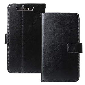 Lankashi Stand Premium Retro Business Flip Leather Case TPU Silicone Bumper For Blackview BV5500 / BV5500 Pro / BV5500 Plus 5.5