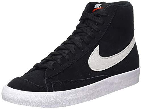 Nike Blazer Mid '77 Suede, Scarpe da Basket Uomo, Black/Photon Dust, 45 EU