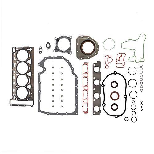 DNJ FGS8005 Full Gasket Sealing Set For 2008-2013 Audi, Volkswagen A3, A3 Quattro, A4, A4 Quattro, A5, A5 Quattro, A6, Beetle, Jetta 2.0L DOHC L4 16V 121cid BPY, CAEB, CBFA, CCTA
