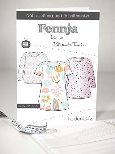 Schnittmuster und Nähanleitung - Damen Bluse Tunika - Fennja