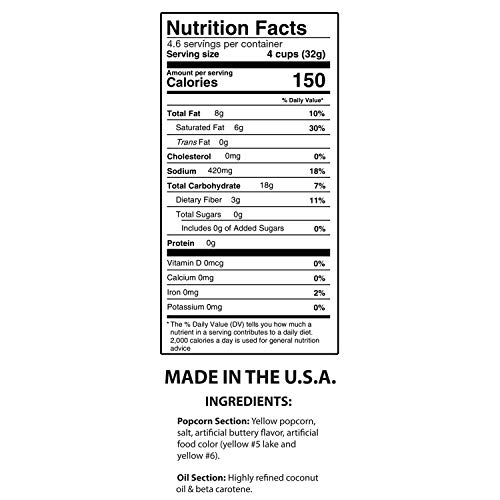 Product Image 4: Nostalgia KPP424 Best Tasting Premium 4-Ounce Popcorn, Oil & Seasoning Salt All-In-One Packs – 24 Count